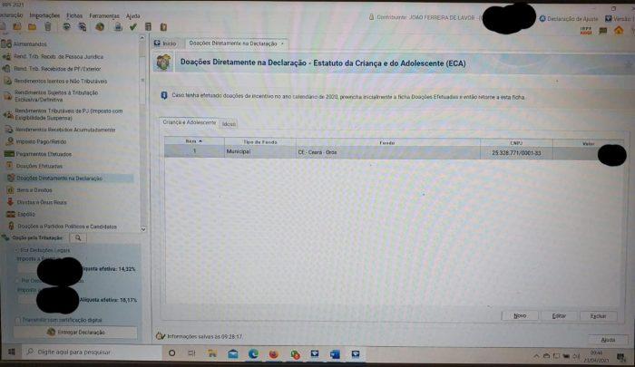 0-700x405 Como fazer DOAÇÕES diretamente na Declaração de Imposto de Renda