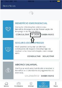 Asset-3 PASSO A PASSO PARA CONSULTAR INFORMES DE RENDIMENTOS DO BEM – BENEFÍCIO EMERGENCIAL DE MANUTENÇÃO DO EMPREGO